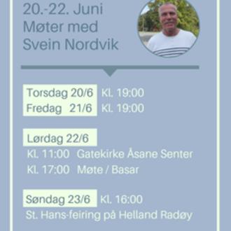Møter med Svein Nordvik